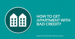How To Get An Apartment With Bad Credit