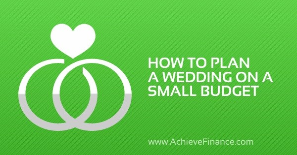 how to plan a wedding on a small budget blog